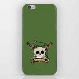 Skull Link iPhone Skin