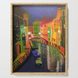 Siskins Venice a la Moi Serving Tray
