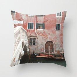 The gondola Throw Pillow