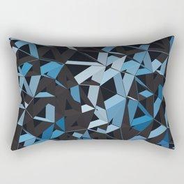 3D Futuristic GEO Lines XVI Rectangular Pillow