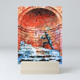 Catanzaro: fountain Mini Art Print