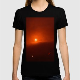 Solar Eclipse over Somerset, 2015 T-shirt