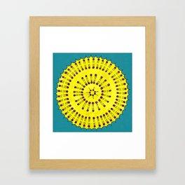 Vesicle Mandala 03 Framed Art Print