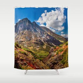 Autumn colors of the old Volсano Shower Curtain