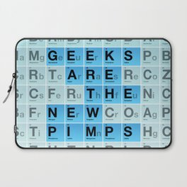 Geeks are the New Pimps Laptop Sleeve