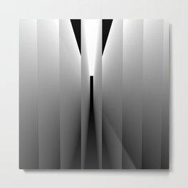 Origami: pattern of light and dark Metal Print