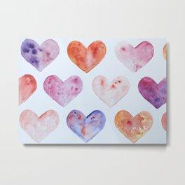 Many Hearts Metal Print