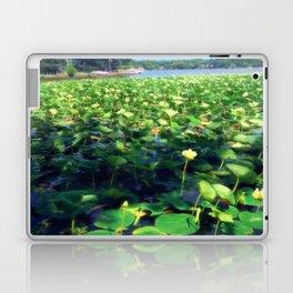 Lotus Blossoms in Bloom Laptop & iPad Skin