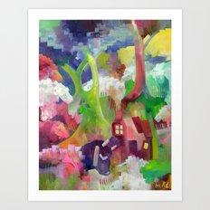 Xheep Art Print