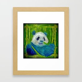 abstract panda Framed Art Print