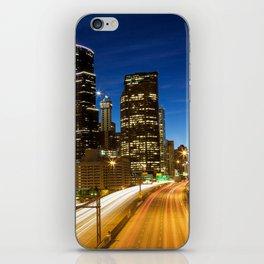 Amazing Seattle Night iPhone Skin