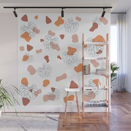 Design template with the vividness Wall Mural