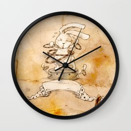 HEAD HUNTING- VI Wall Clock