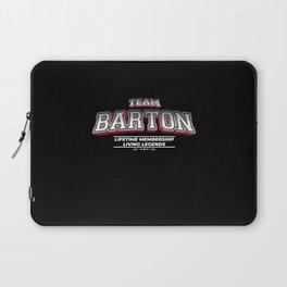 Team BARTON Family Surname Last Name Member Laptop Sleeve