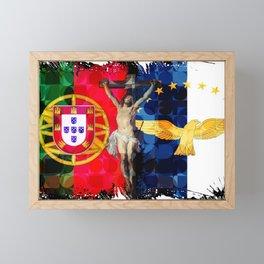 Portuguese Follower of Christ Framed Mini Art Print