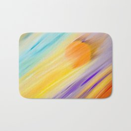 """Catch the Sun #1 – Sequel #2"" Oil Painting Bath Mat"