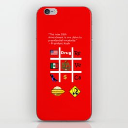 28th Amendment iPhone Skin