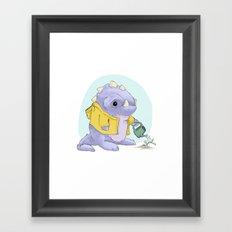 Monster Cutie Framed Art Print