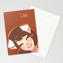 Me-ow! Stationery Cards