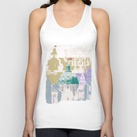 copenhagen Tank Tops featuring Copenhagen Collage by Tokyo Rose