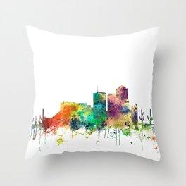 Tucson, Arizona Skyline SP Throw Pillow