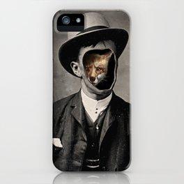 Gentleman Fox iPhone Case
