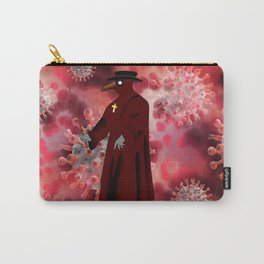 Virus Plague Doctor  Carry-All Pouch