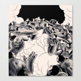 smokesmokesmoke Canvas Print
