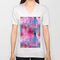 Spring floral paint 1 Unisex V-Neck