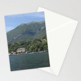 View of Tremezzo and Villa Carlotta on Lake Como, Italy Stationery Cards