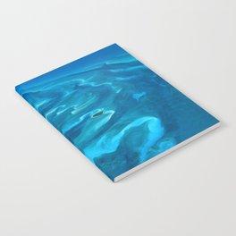 Dramatic Blue Ocean Waves Notebook