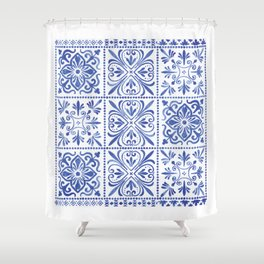 Anthropi Shower Curtain