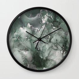 Star Theory Green Wall Clock