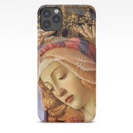 MADONNA THE MAGNIFICENT - BOTTICELLI  iPhone Case