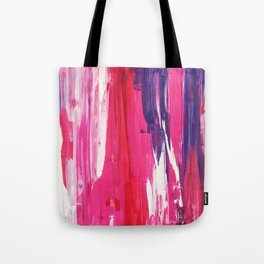 When Melting, Try to Stay Purple (and Calm) Tote Bag