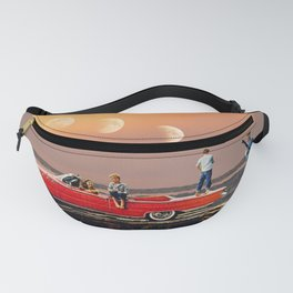Car Over Water Fanny Pack