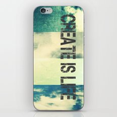 CREATE IS LIFE iPhone & iPod Skin