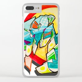 """""""On Zion"""" Clear iPhone Case"""