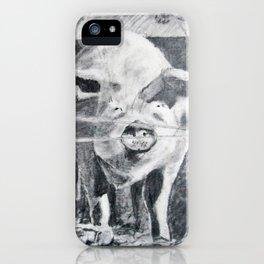 Barnyard Pig iPhone Case