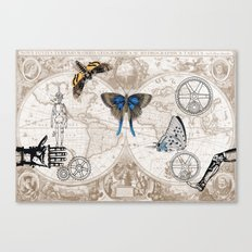 The New Steampunks Canvas Print