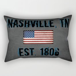 Music City Rectangular Pillow