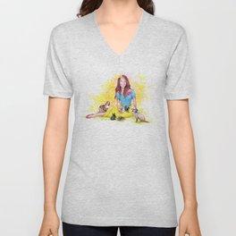 Snow White I | Endometriosis awareness Unisex V-Neck