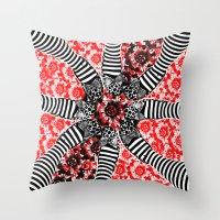 oz Throw Pillows featuring Oz. by ChristyVegas