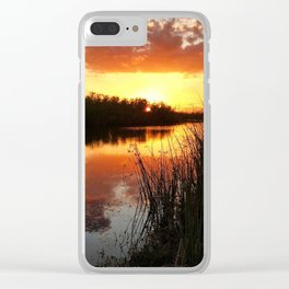 Bayou Dreaming Clear iPhone Case