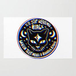 Black Cat 3D Rug
