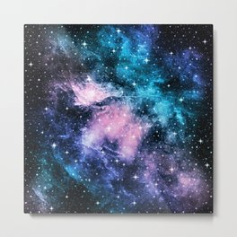 Unicorn Galaxy Nebula Dream #1 #decor #art #society6 Metal Print