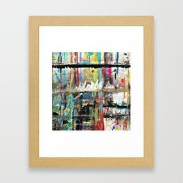 Colorful Bohemian Abstract 3 Framed Art Print