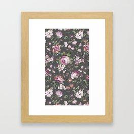 peony shabby chic Framed Art Print