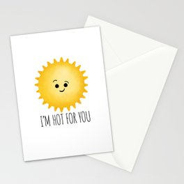 I'm Hot For You Stationery Cards