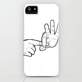 In hoc signo vinces (con este signo venceras) iPhone Case